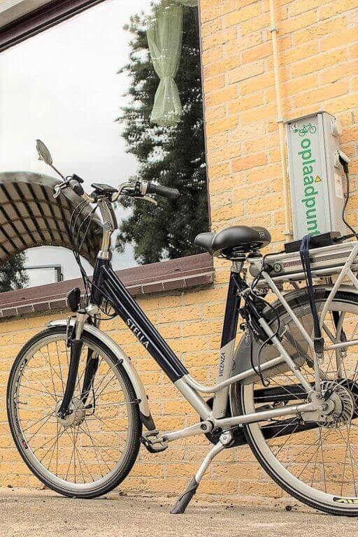 Bicycle charging point